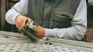 grinder, tools, worker